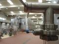 Detalles sala de depositos vinos de La Mancha