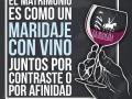 el matrimonio como el vino