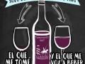 solo existen dos tipos de vino