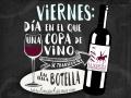 viernes dia de una copa de vino