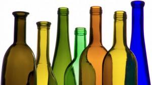 botellas según el color