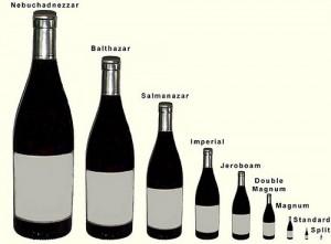 tipo de botellas
