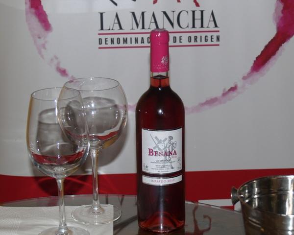 botella besana real rosado