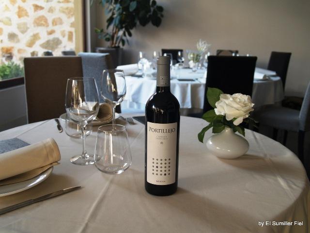botella de portillejo cabernet sauvignon reserva d.o. la mancha