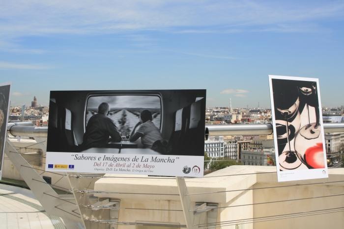 Exposición sabores e imágenes de La Mancha