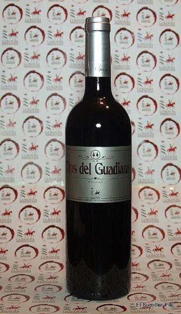 Botella de Ojos del Guadiana Crianza