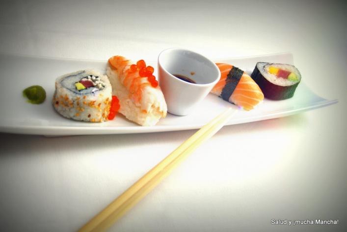 Sushi y mucha Mancha!