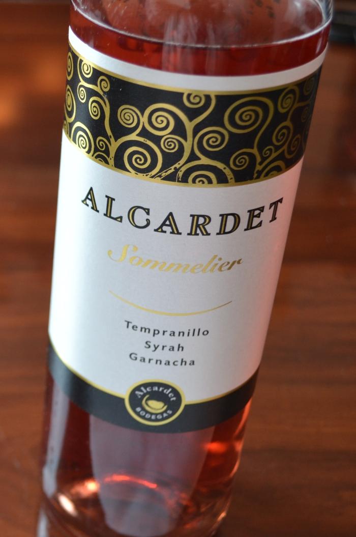 Alcardet Sommelier Rosado Denominación de Origen La Mancha