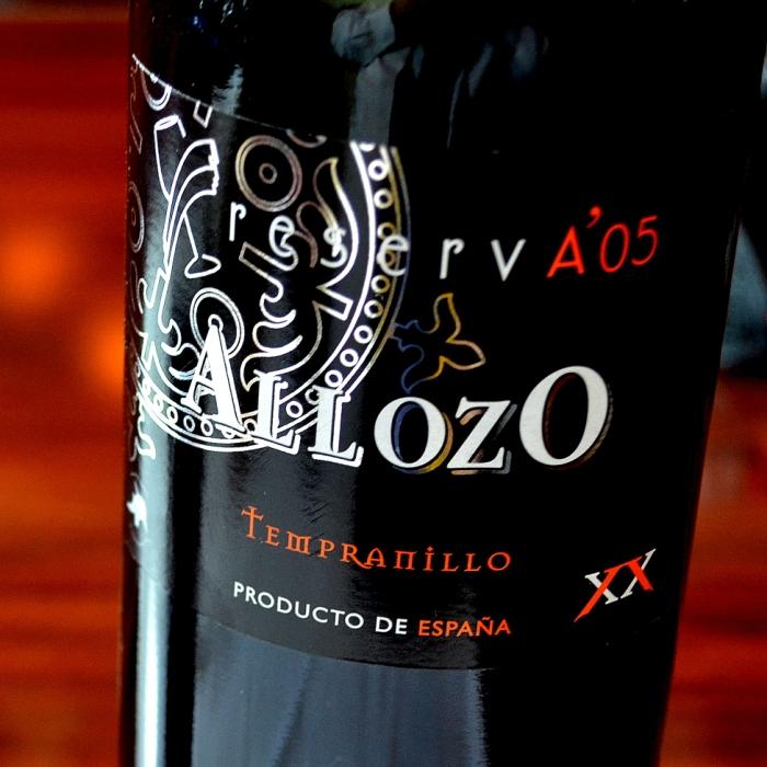 Allozo Reserva 2005 Denominación de Origen La Mancha
