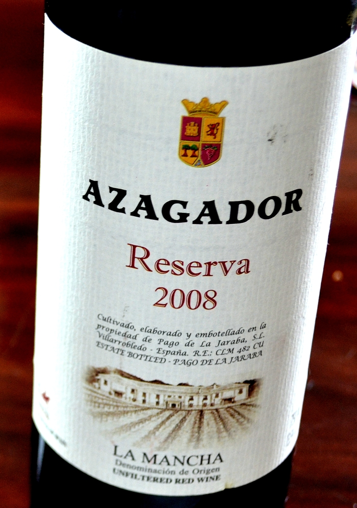 Azagador Reserva 2008 D.O. La Mancha