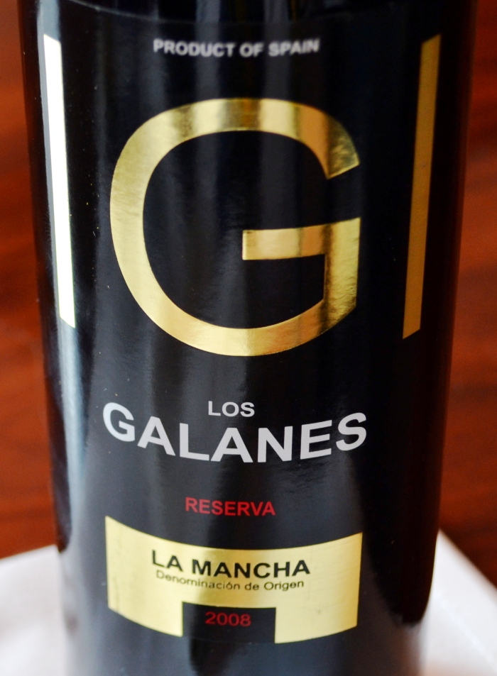 Los Galanes Tempranillo Reserva 2008 Denominación de Origen La Mancha