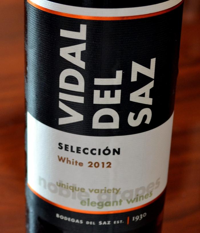 Vidal del Saz seleccion white 2012 Denominación de Origen La Mancha