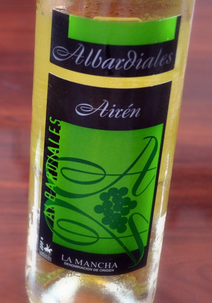 Albardiales Airén 2012 D. O. La Mancha