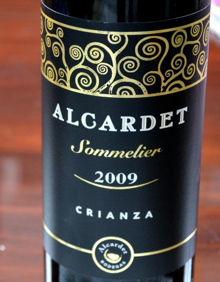 Alcardet Sommelier Ccrianza 09 Denominación de Origen La Mancha
