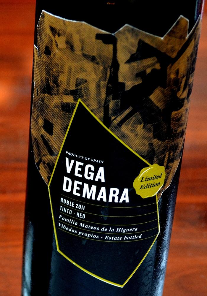 Vega de Mara Roble 2011 DEnominación de Origen La Mancha