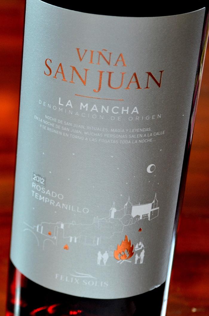 Viña San Juan Tempranillo Rosado 2012