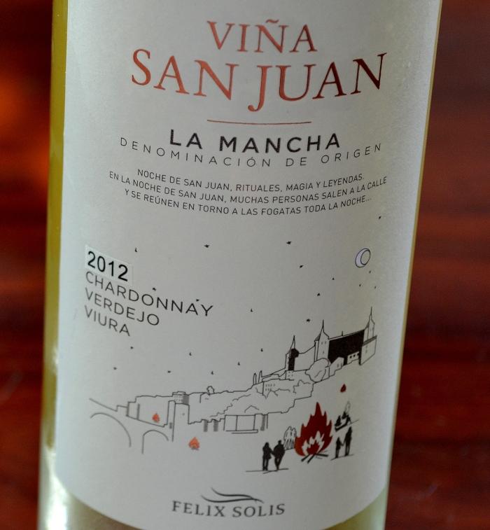 Viña San Juan blanco joven 2012