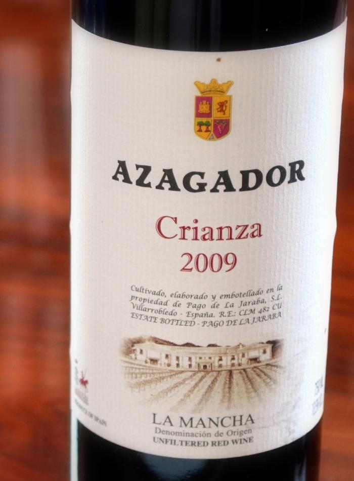 Azagador Crianza 2009 D. O. La Mancha