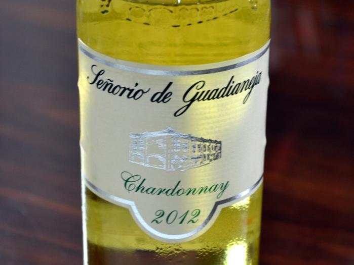 Señorío de Guadianeja Chardonnay 2012