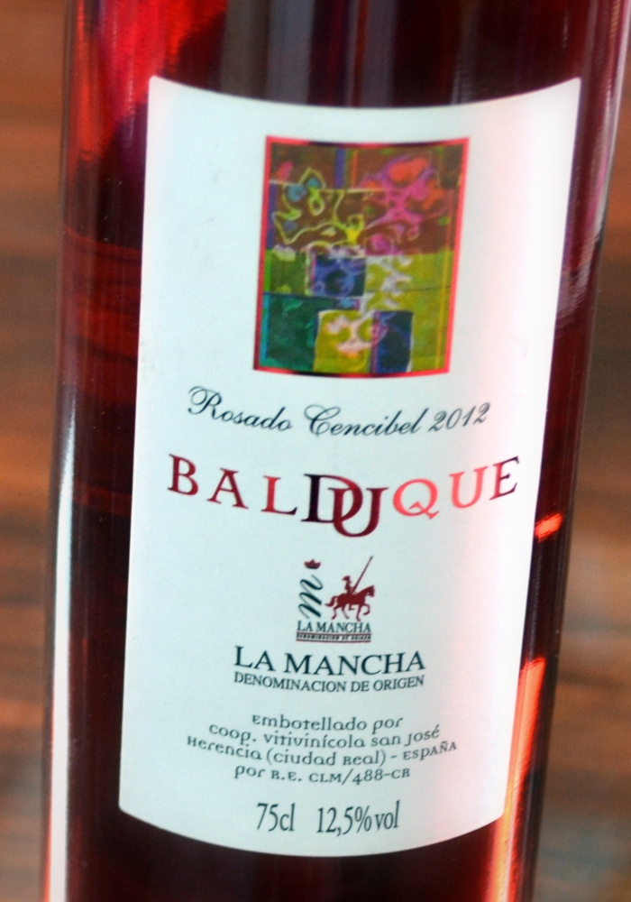 botella Balduque Rosado
