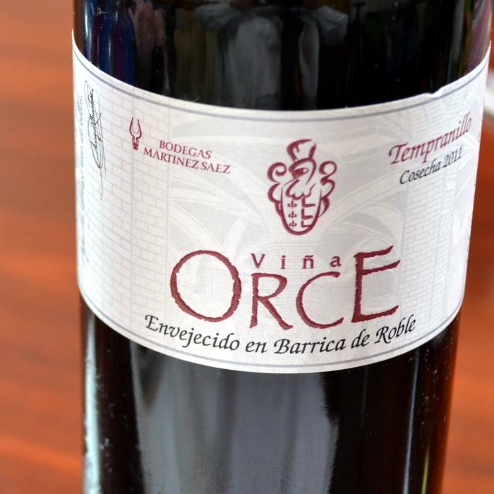 botella Viña Orce Roble
