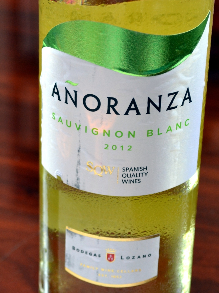 botella de Añoranza Sauvignon Blanc