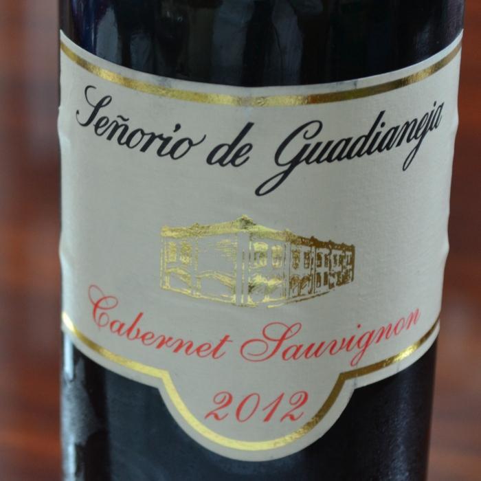 botella deseñorío de guadianeja cabernet