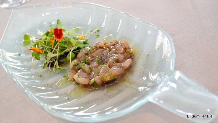 Tartar de Quisquilla de José Antonio Sánchez