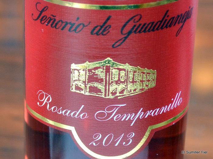 señorío de guadianeja rosado tempranillo 2013