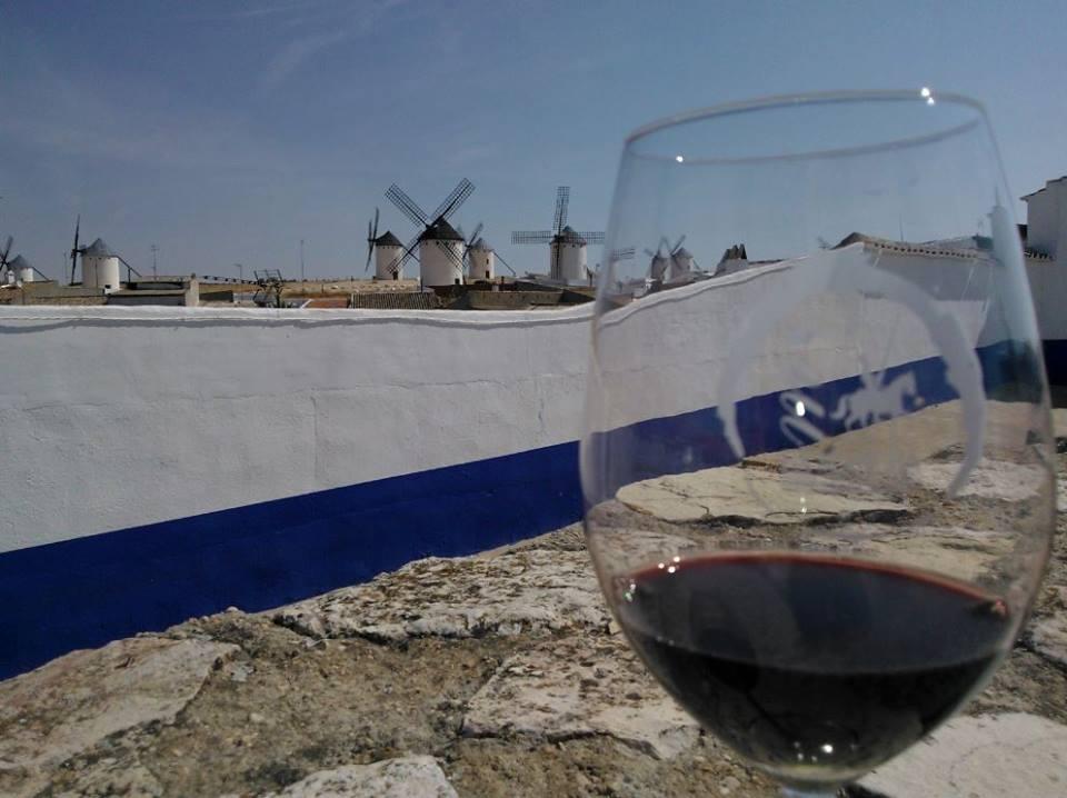 vino y molinos de La Mancha