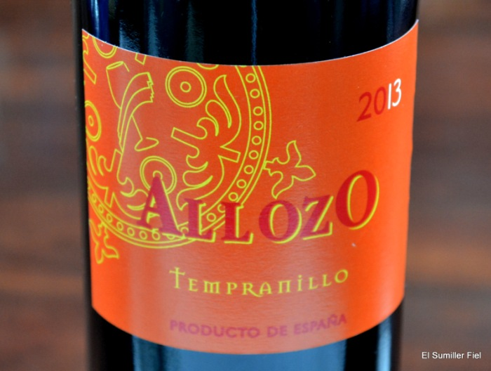 ALLOZO TEMPRANILLO 2013