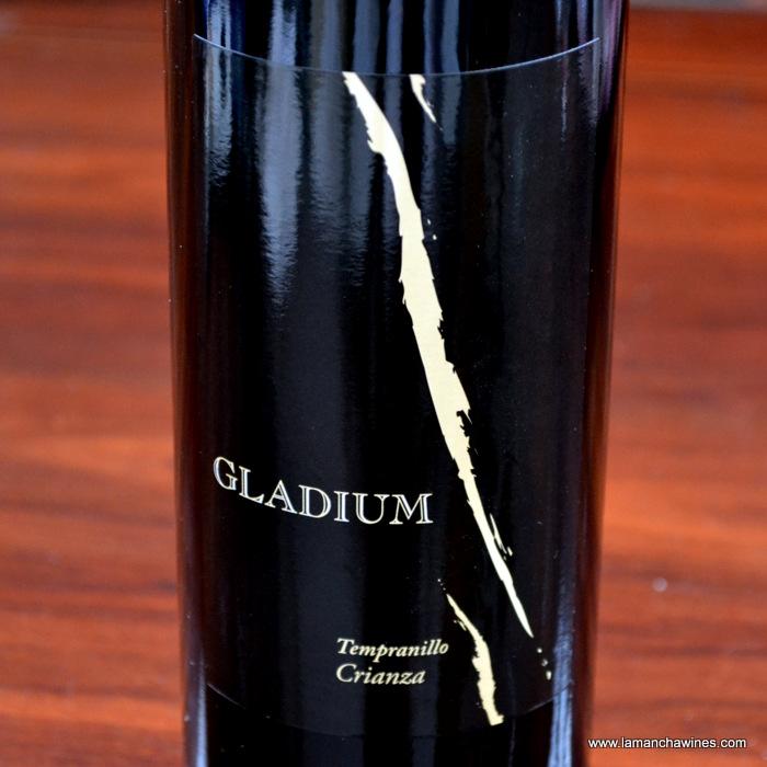 etiqueta Gladium crianza 2010 D.O. La Mancha