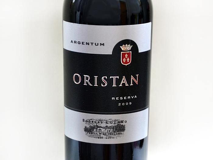 oristan reserva 2009