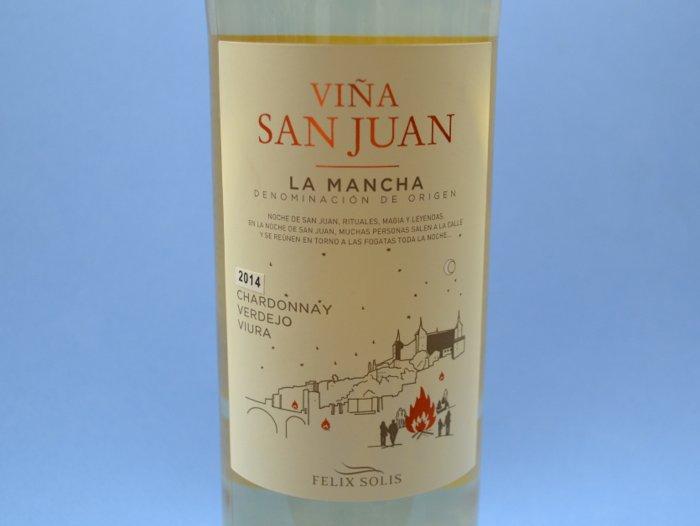 Viña San Juan blanco 2014
