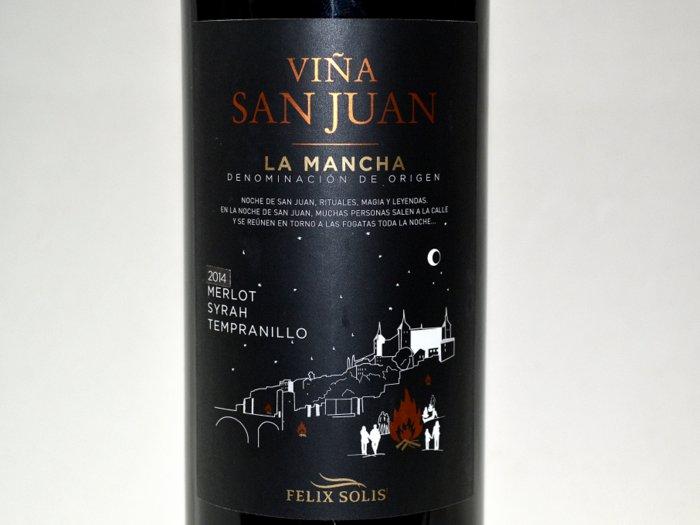 Viña San Juan tinto 2014