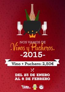 cartel de vinos y pucheros 2015
