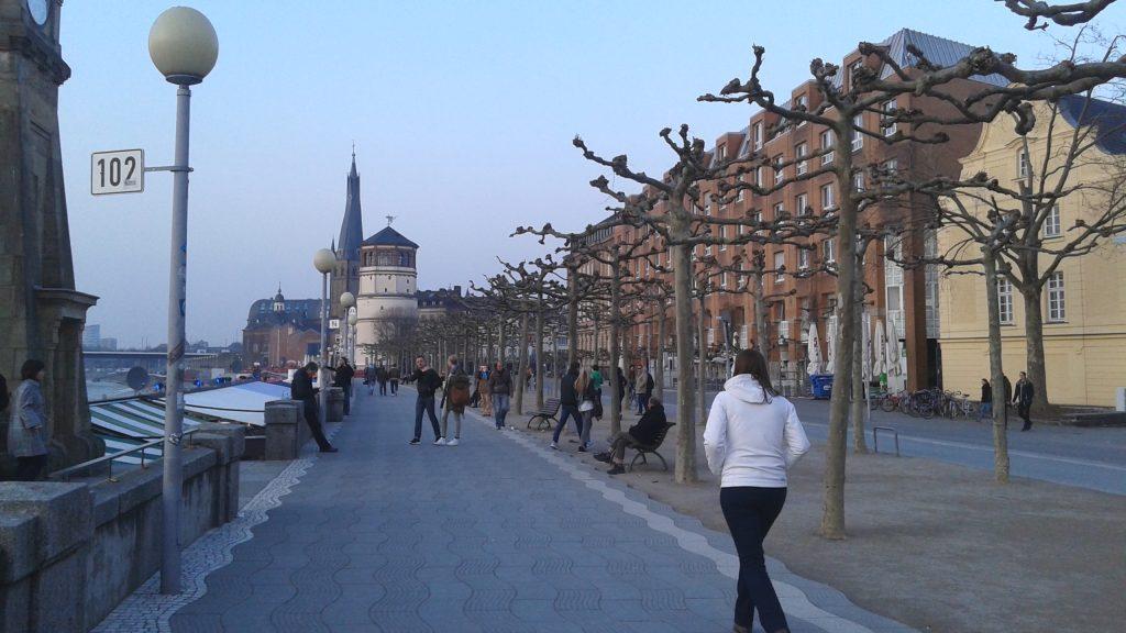 Dusseldorf ha sido catalogada recientemente como una de las cinco mejores ciudades con calidad de vida