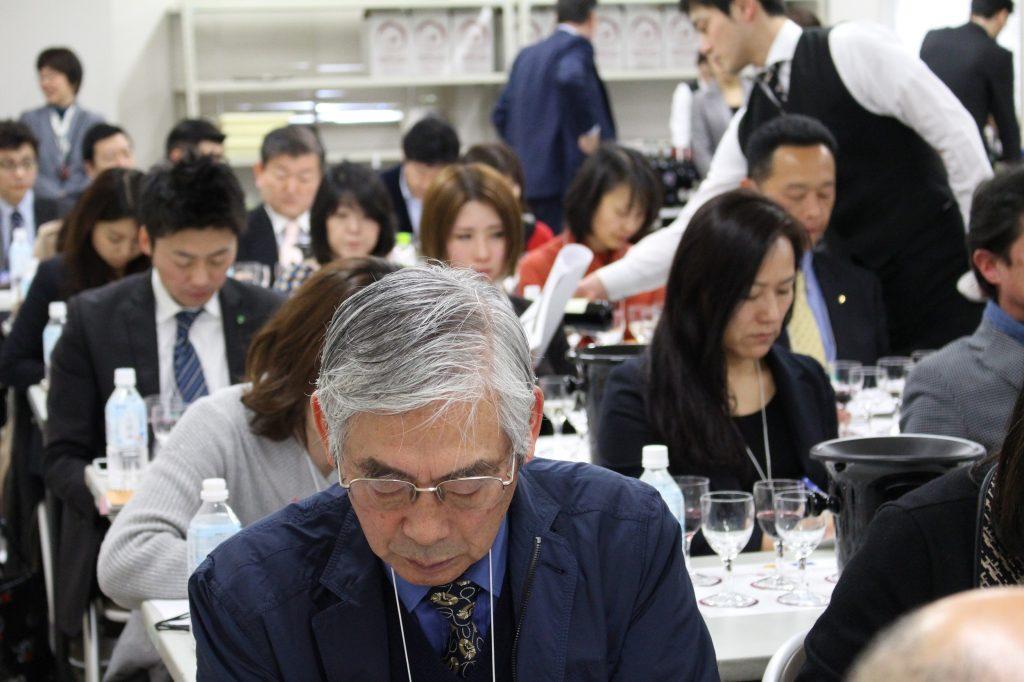 Seminario de cata en Tokio