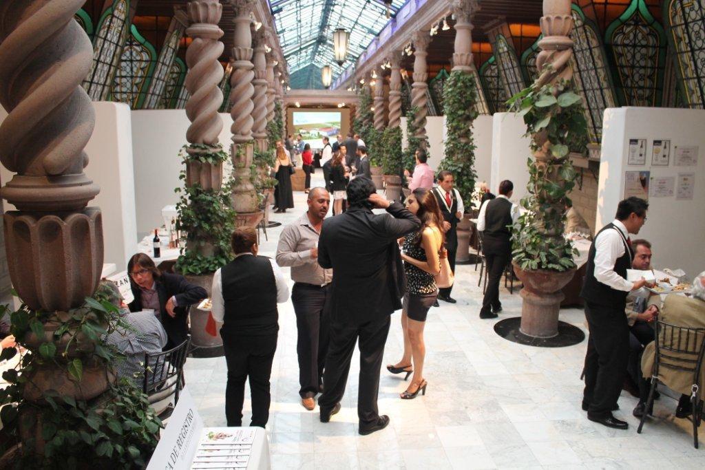 Imágenes de la presentación en México el pasado año 2014