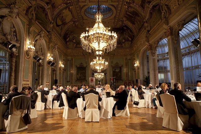 Premios Bacchus celebrados en el casino de Madrid con presencia de vinos DO La Mancha