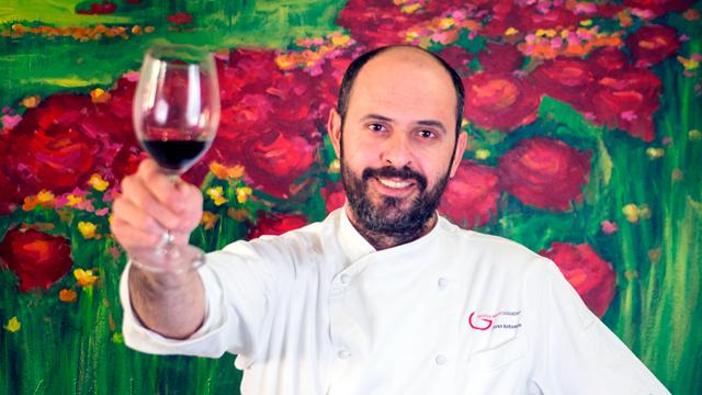 El Cocinero Jose Antonio Pintado del Restaurante GRanero de Quintanar de la Orden