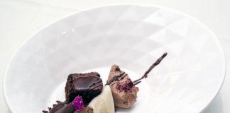 Brownie maridado con vinos espumosos de La Mancha