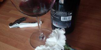 San Valentín y vino