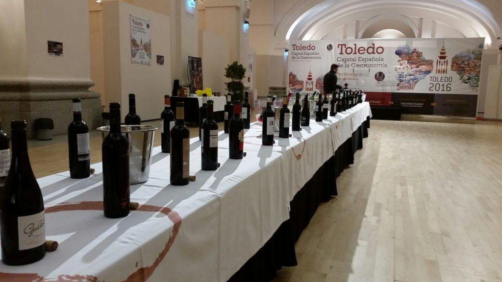 Medio centenar de referencias fueron catadas por el gran público en Toledo