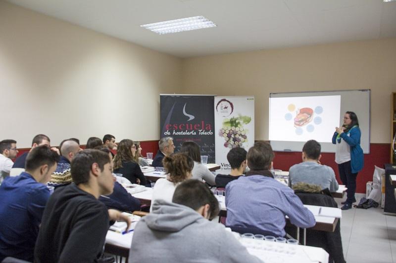 Actividad celebrada por el Consejo Regulador en la Escuela de Hostelería de Toledo