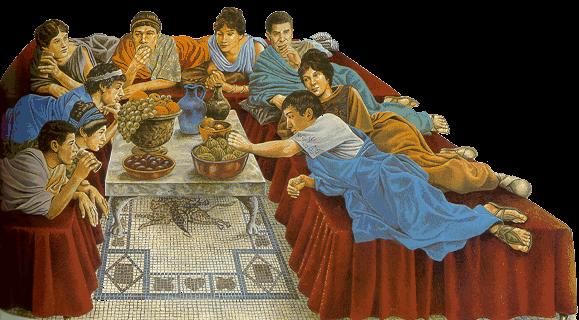 imperio-romano, bacanal