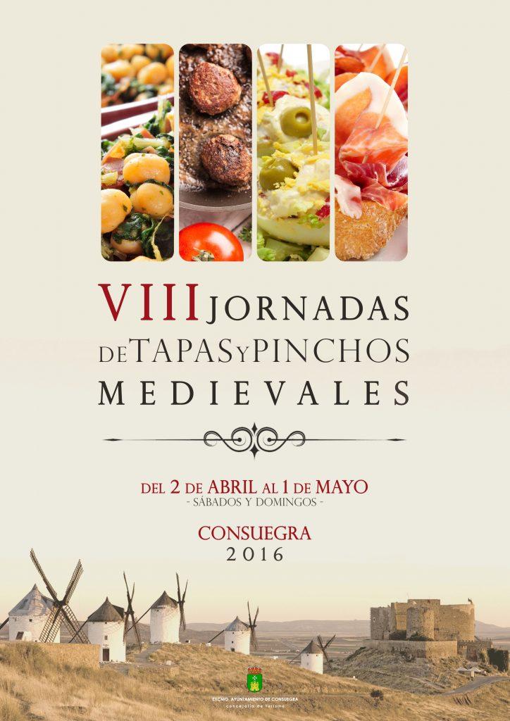 Jornadas de Tapas y Pinchos Mediavales de Consuegra 2016