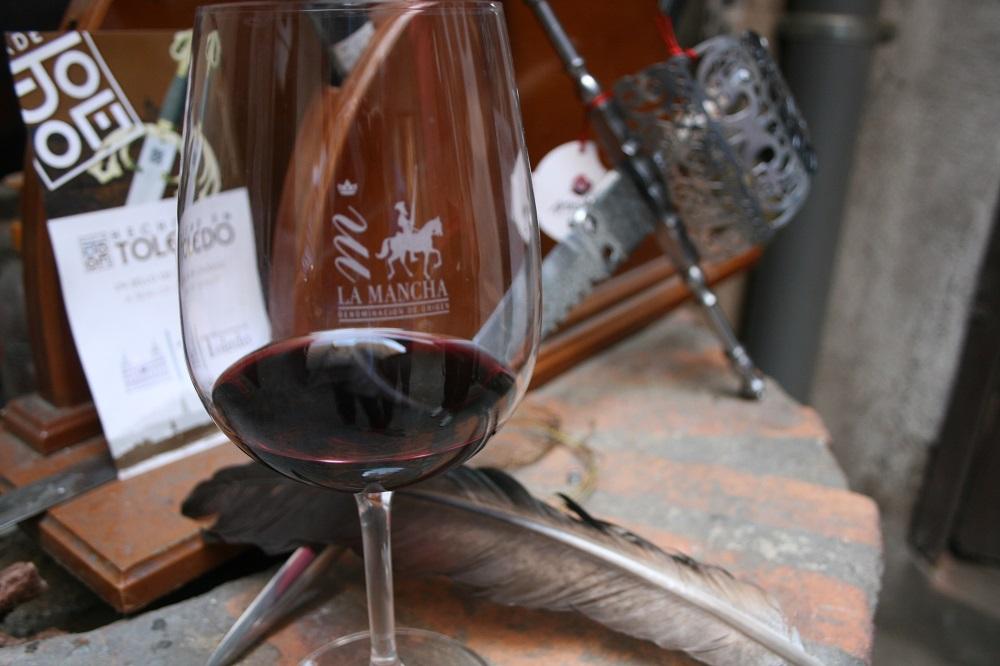 In Toledo, in Begleitung von Cervantes und Wein