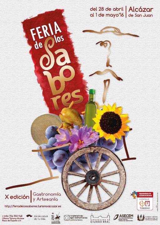 cartel feria de los sabores 2016