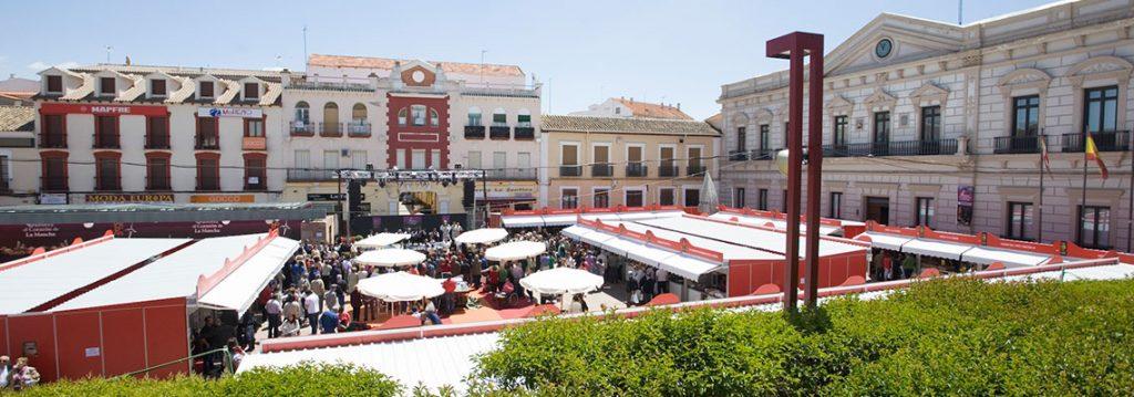 vistas feria sabores Alcázar